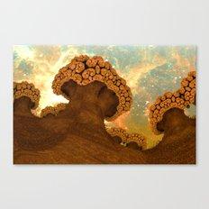 Broccoli Planet in Fall Canvas Print