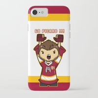 picard iPhone & iPod Cases featuring Mini Picard by Kana Aiysoublood