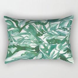 calathea leaves Rectangular Pillow