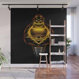 Buddha Lamp Wall Mural