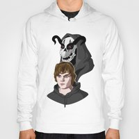 kris tate Hoodies featuring Tate Langdon by Cécile Appert