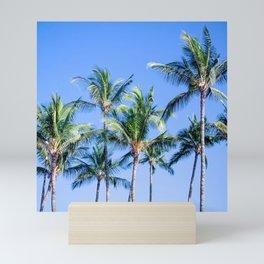 Palms in Living Harmony Mini Art Print