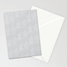 Subtle Cacti Stationery Cards