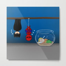 How sleep the heroes? Metal Print