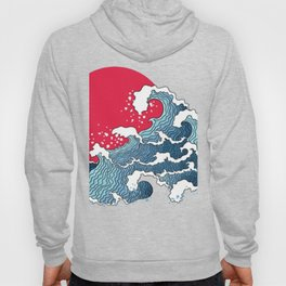 The Second Great Wave Hoody