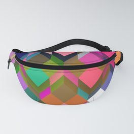 Poetry and Boxes Fanny Pack