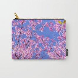 Peach blossom, Peach flower, Photo flower, beautiful view, Peach blossom hill,  Carry-All Pouch