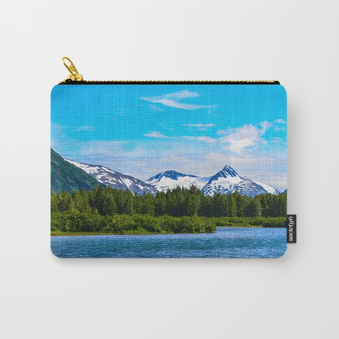 Portage Valley Summer - I Carry-All Pouch
