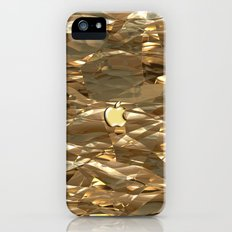 GOLDEN TEXTURE for IPhone Slim Case iPhone (5, 5s)
