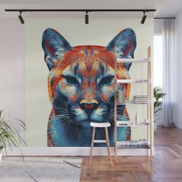 Puma -  Colorful Animals Wall Mural