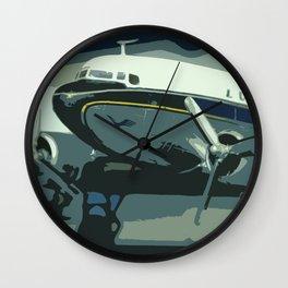 Lufthansa German Airplane Popart Vintage Wall Clock