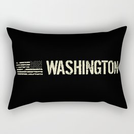 Black Flag: Washington Rectangular Pillow