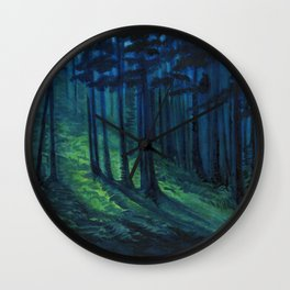 Lovely, Dark, and Deep Wall Clock