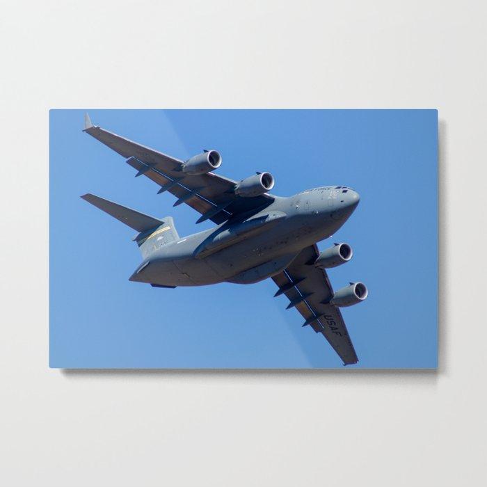 Boeing C-17 Globe Master III Metal Print