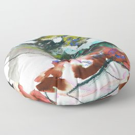 Day 84: In most cases reflecting on things in a cosmic context reveals triviality. Floor Pillow