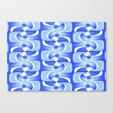 Blue & White Canvas Print