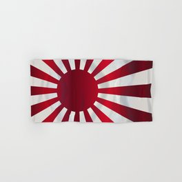 Japanese Rising Sun Flag Hand & Bath Towel