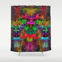 The 3 Chiefs Shower Curtain
