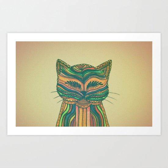 Felis Silvestris Art Print