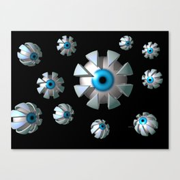 Eyes In Space Canvas Print