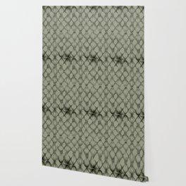 Braided Diamond Simply Green Tea Wallpaper