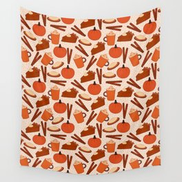 Pumpkin Fanatic Wall Tapestry