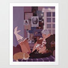 Charlie and Karin Art Print