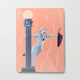 Singin' in the Rain Metal Print