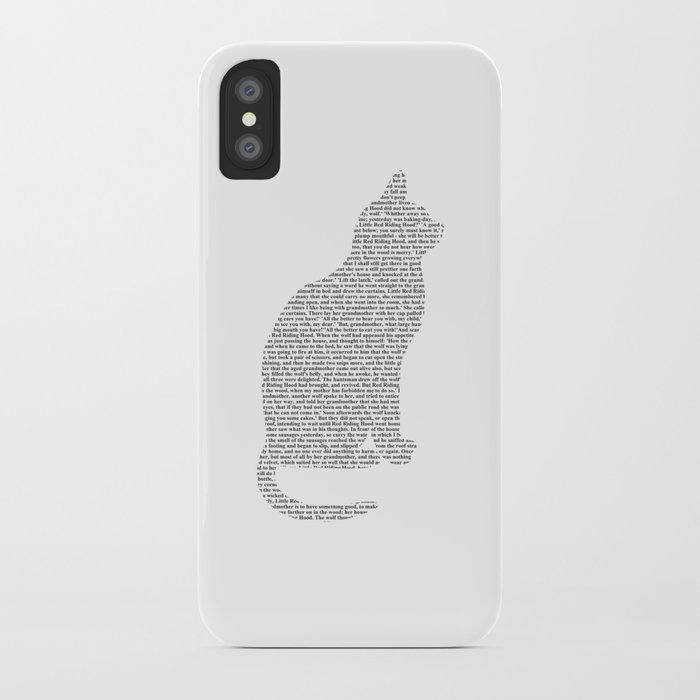 Cat Cut Out Iphone Case By Bookwormboutique Society6