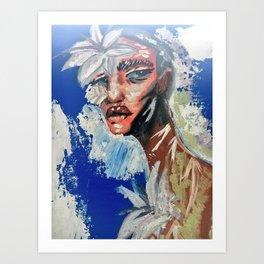 Rashad Art Print