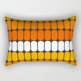 Flame Capsule Rectangular Pillow