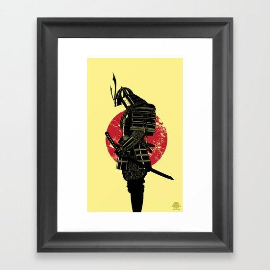 The Headless Samurai  Framed Art Print