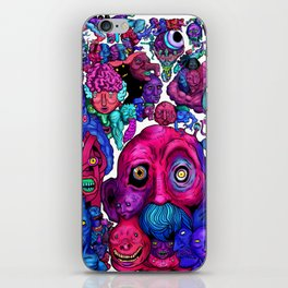 Mind of a thousand Thoughts iPhone Skin