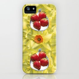 Fun with Yellow iPhone Case