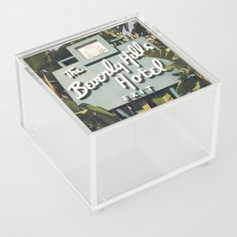 Beverly Hills Hotel Acrylic Box