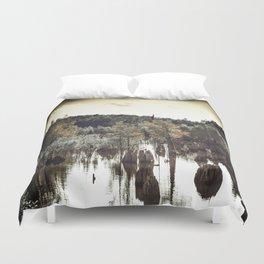 Dead Lakes Grunge Style Duvet Cover