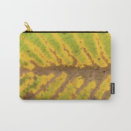 autumn leaf texture Carry-All Pouch