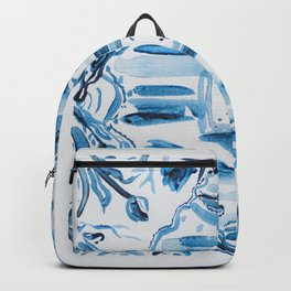 Azulejos Portugal, hand painted ceramic tiles Backpack