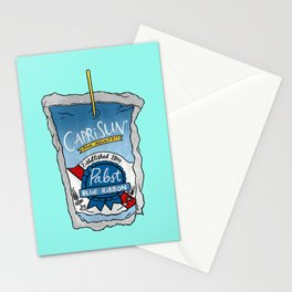 PBR Capri Sun Stationery Cards