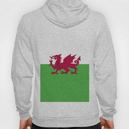 Wales flag emblem Hoody
