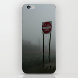 Do Not Enter iPhone Skin