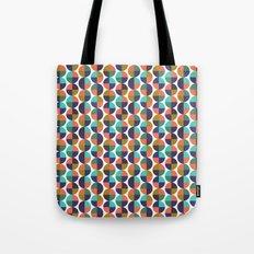 mod circles pattern Tote Bag