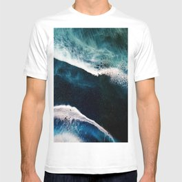 Abstract Stormy Sea T-shirt