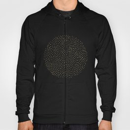 Dotted Gold & Black Hoody