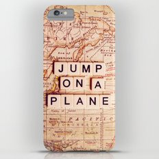 jump on a plane iPhone 6s Plus Slim Case