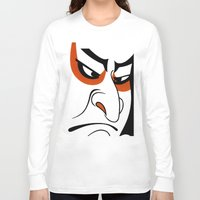 samurai Long Sleeve T-shirts featuring Samurai by Popp Art