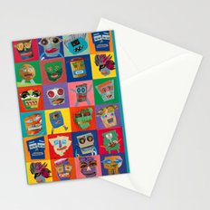 Monster Pals Stationery Cards