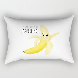 I Find You Very Appeeling! Rectangular Pillow