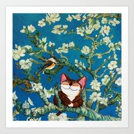Almond Blossoms Art Print