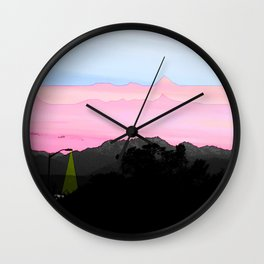 Illusion of Day Wall Clock